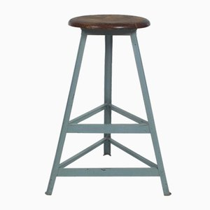 High Industrial Stool by R. Wagner for Rowac