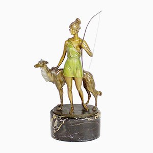 Bruno Zach, Diana The Huntress, Bronze