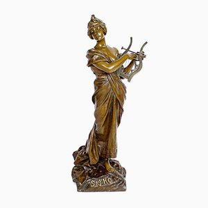 Emmanuel Villanis, Sappho, Bronze