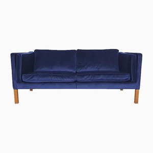 Vintage Model 2335 Couch by Borge and Peter Mogensen for Fredericia, Denmark, 1975