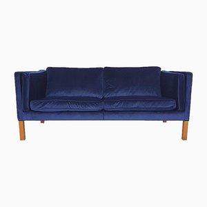 Vintage Modell 2335 Couch von Borge und Peter Mogensen für Fredericia, Denmark, 1975