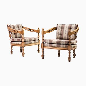 Armchairs from Giorgetti, Set of 2