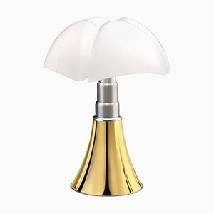 Bat Gold Limited Edition Lamp by Gae Aulenti