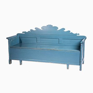 Swedish Wooden Painted Bench