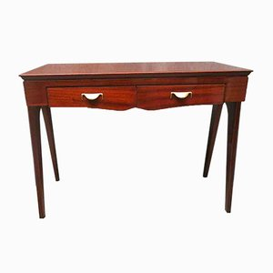 Mid Century Mahogany Writing Desk