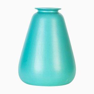 Aqua Green Ceramic Vase by Ceramiche Nove, Italy, 1950s