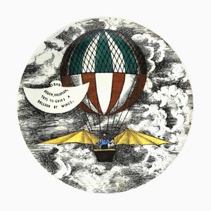 Mongolfiere Series Plate by Piero Fornasetti, 1955