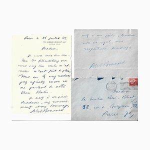 Abel Bonnard, Confidential Autograph Letters, 1930er