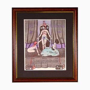 Unbekannt, Bal De L'internat, Originale Lithografie, 1921