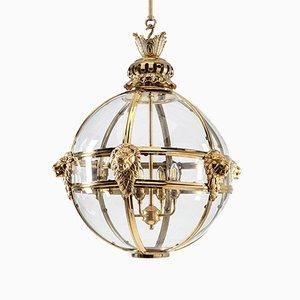 Brass Leone Lantern