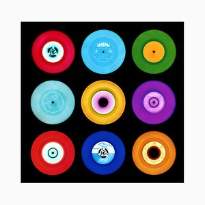 Vinyl Collection, 7'' A Side Compilation, Pop Art Color Photography 2016