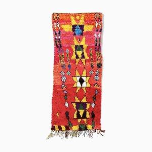 Tappeto Boucherouite berbero, anni '70