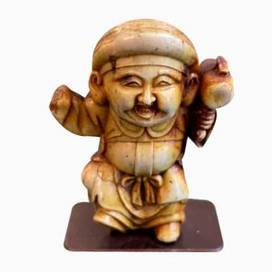 Netsuke japonés antiguo
