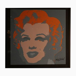 Litografia di Andy Warhol per CMOA, Marilyn Monroe, numero 1210/2400, Pittsburgh, 1967