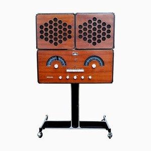 Radio modello Rr126 di Achille Castiglioni per Brionvega, 1964