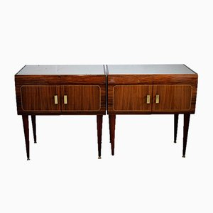 Mid-Century Rosewood Nightstands by Vittorio Dassi, Set of 2