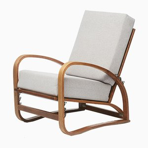H 70 Lounge Lounge Chair by Jindřich Halabala for UP Závody, 1920s