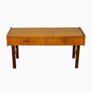 Swedish Teak Console Table, 1960s
