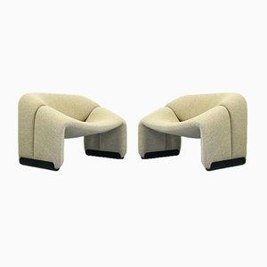 F598 Groovy Lounge Chairs von Pierre Paulin für Artifort, Niederlande, 1970er Jahre, 2er-Set