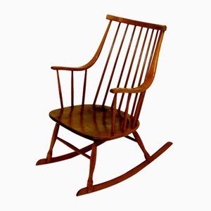 Bohem Rocking Chair by Lena Larsson, 1960s