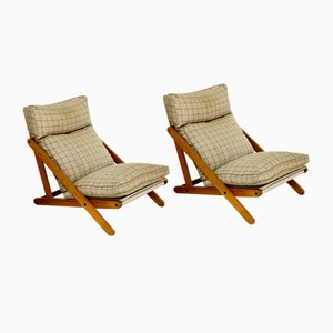Kon-Tiki Lounge Chairs from Ikea, 1970s, Set of 2