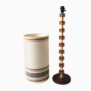 Glas Stehlampe von Carl Fagerlund für Orrefors