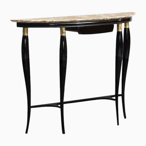 Mid-Century Modern Marble-Top Console Table by Paolo Buffa, 1950s