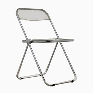 Vintage Plona Folding Chair by Giancarlo Piretti for Castelli / Anonima Castelli