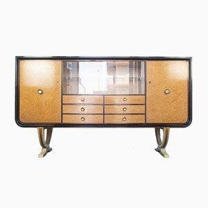 Art Deco Mahagoni Furnier & Nussholz Kommode, 1930er
