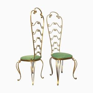 Frisierstühle von Pier Luigi Colli, 1950er, 2er Set
