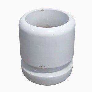 Zylinderförmige Übertöpfe aus Kunststoff von Luigi Colani, 1960er