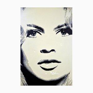 Alberto Zamboni, Brigitte Bardot, 2014, Acrylic on Canvas