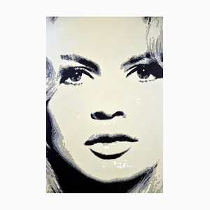 Artigianato di Alberto Zamboni, Brigitte Bardot, 2014, acrilico su tela