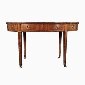 Ovaler George III Schreibtisch