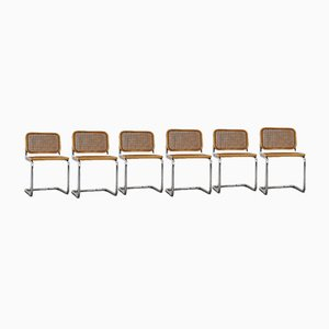 Vintage Side Chairs by Marcel Breuer for Gavina, Set of 6
