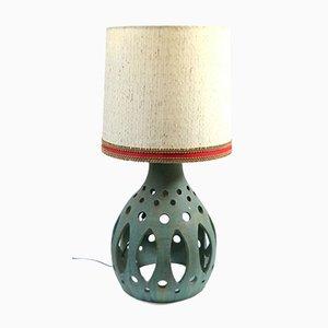 Large Mid-Century Ceramic Floor Lamp, 1970s