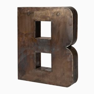 Metal Letter B, 1960s
