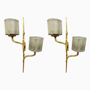 Sconces by Félix Agostini for Maison Arlus , Set of 2