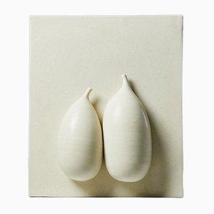 Relief Sinnligt en Céramique par Vivi Calissendorff, Suède, 2000s