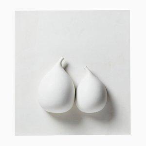 Relief Untitled en Céramique par Vivi Calissendorff, Sweden, 2010s