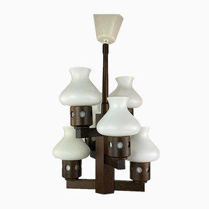 Dänische Deckenlampe von Vitrika, 1960er