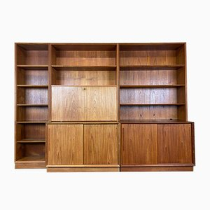Danish Bookcase Cabinet by Svend Aage Rasmussen, 1960s