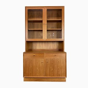 Danish Bookcase Cabinet by Erik Brouer for Brouer Møbelfabrik, 1960s
