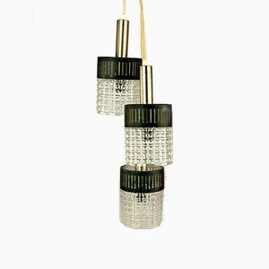 Space Age Bulb Cascade Lamp in Metal