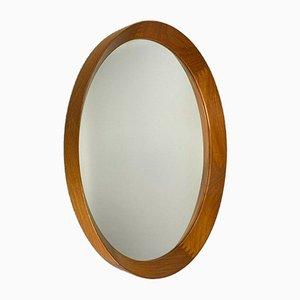Teak Wall Mirror from Pedersen & Hansen Viby J, 1960s