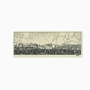 Bruno Angoletta, Illustrazione, Disegno originale a penna, Inizio XX secolo