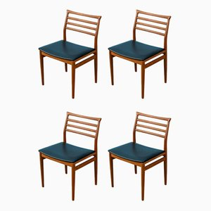 Dining Chairs by Erling Torvits for Sorø Stolefabrik, 1960s, Set of 4