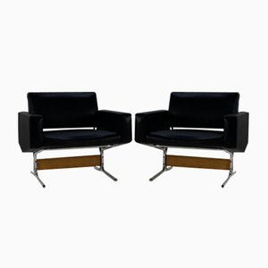 Lounge Chairs by Pierre Guariche for Meurop, 1960s, Set of 2