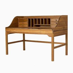 Schreibtisch aus Eiche von Andreas Hansen für Hadsten Træindustri, 1970er