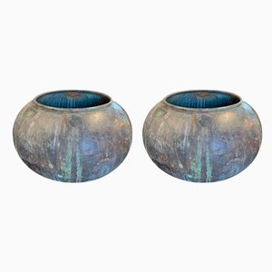 Copper Planters, 19th-Century, Set of 2